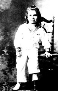 Mortimer as a young boy